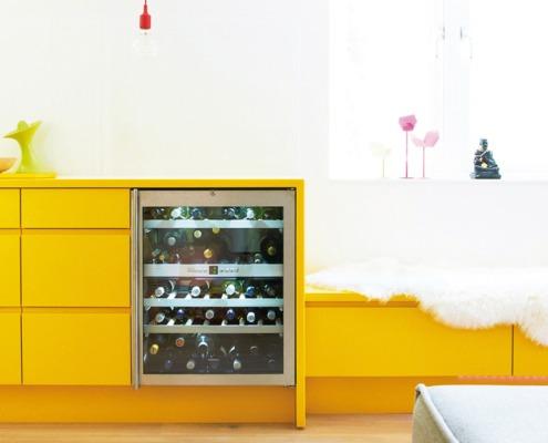Kjøkken fra Kungsäter Kök - Greppa gul