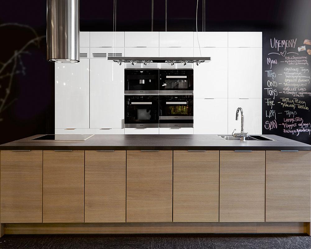 Kjøkken interiør: kjøkkensimulator drømmekjøkkenet. tine monsen. .